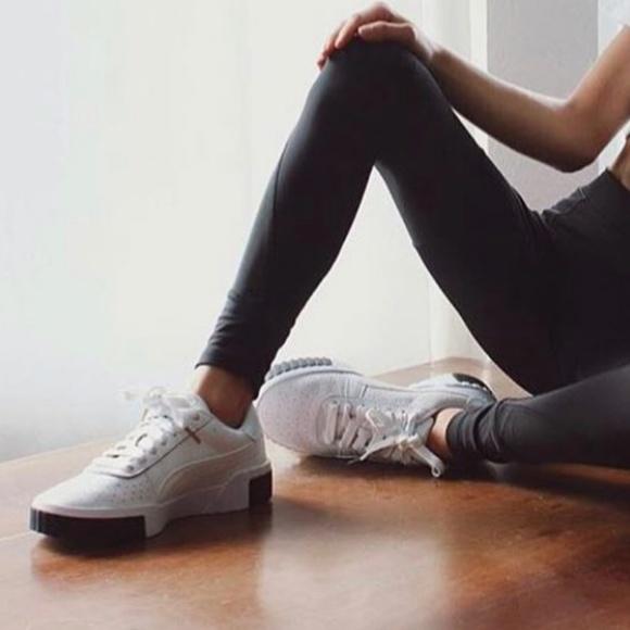 Puma Shoes | Puma Cali Sneaker In White